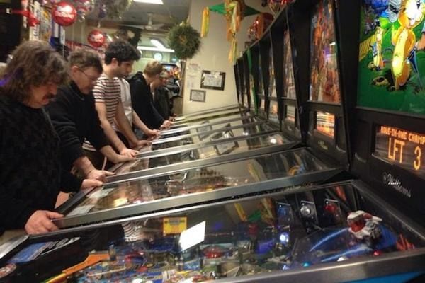 Obscura Day 2015: Free Pinball at the Sunshine Laundromat Brooklyn New York| Atlas Obscura