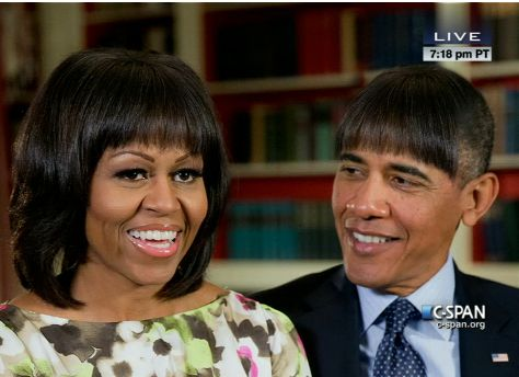 HA ha tonight's White House Correspondent's Dinner Joke
