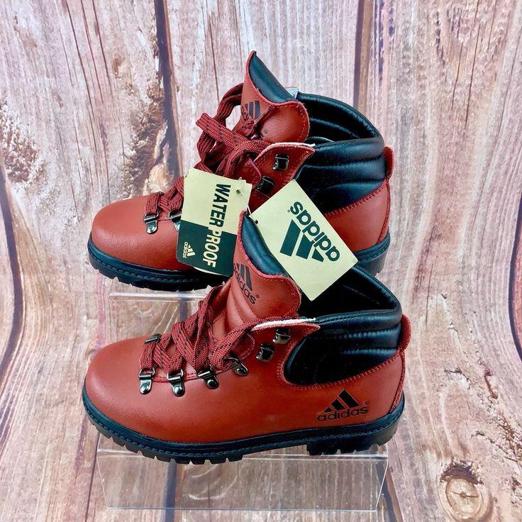 Adidas Hush Red Boots Walking Hiking Work Wear Waterproof New Tagged adults kids