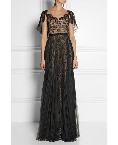 BLACK DREAMY BRIDE Notte by Marchesa Gown | 50 Dreamy Wedding Dresses You'll Fall In Love With
