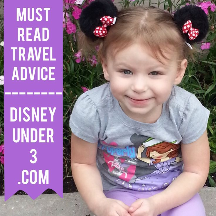 Travel advice for families visiting Disney World with infants and toddlers. Disneyunder3.com.