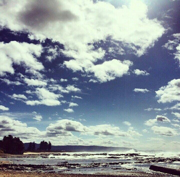 #wollongong #beach #ocean #sky