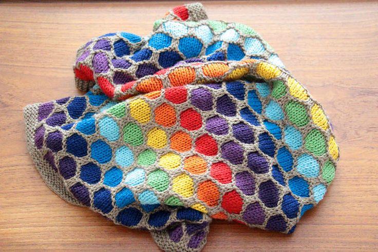 Honeycomb Blanket (not my pattern)