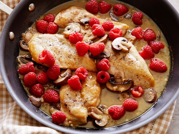 Raspberry Chicken recipe from Trisha Yearwood via Food Network, make sure to see the reviews and tweek this recipe