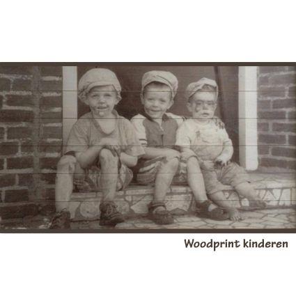 Woodprint kinderen