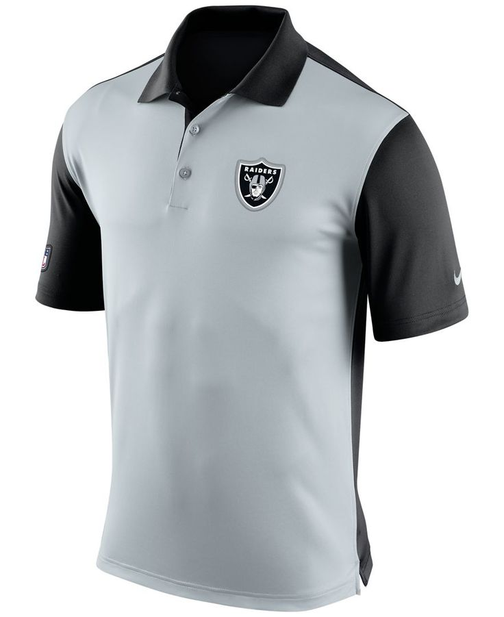 Nike Men's Oakland Raiders Preseason Polo