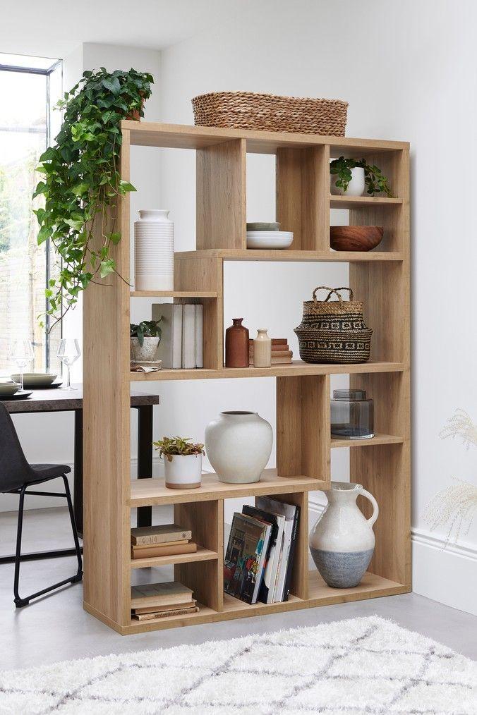 Next Oak Room Divider Natural Wooden Room Dividers Shelving Units Living Room Living Room Divider