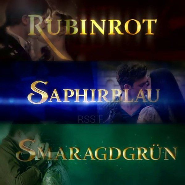 Rubinrot, Saphirblau & Smaragdgrün