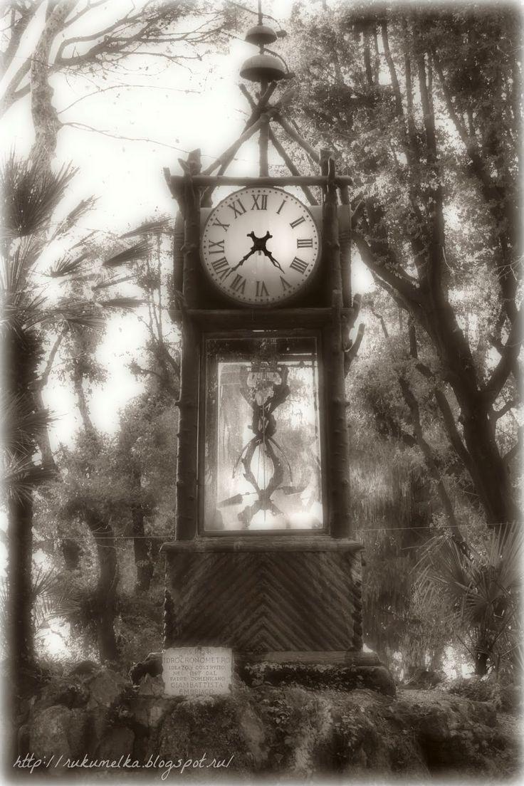 Часы в римском парке