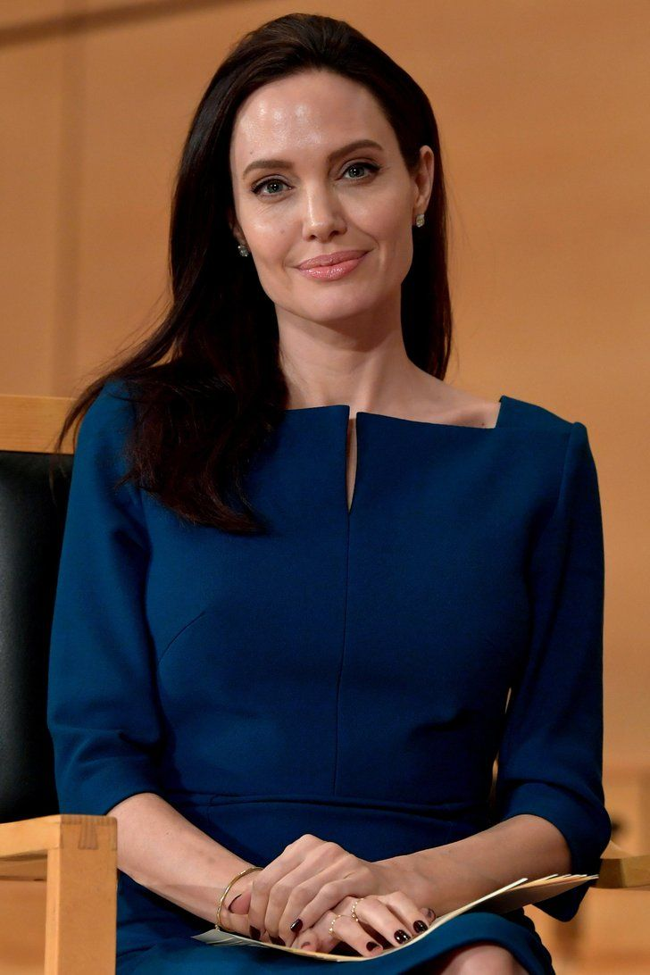 """Angelina Jolie Calls Herself a """"Proud American"""" While Giving a Speech in Geneva"""