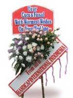 Toko Bunga Bandung Standing Flowers Selamat STDS001