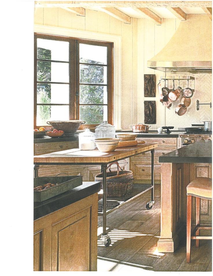 11 best kitchen images on pinterest kitchens kitchen for Light yellow kitchen