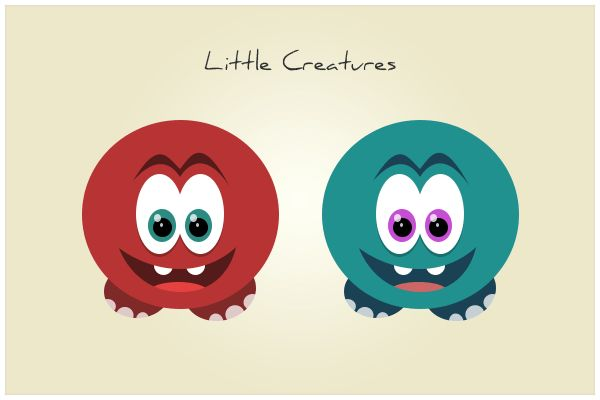 133 Little Creatures (freebie by pixelcave)