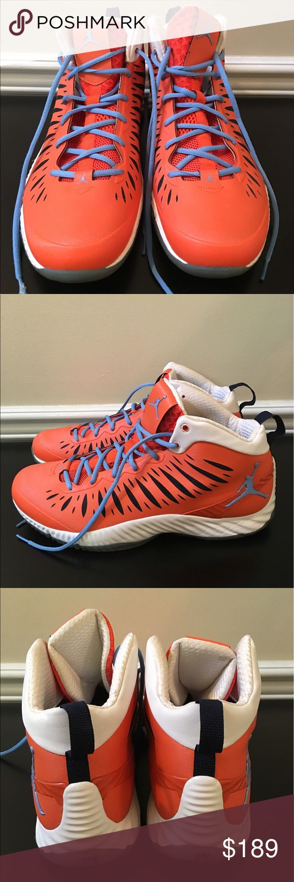 🛍 Nike #14 Bobcats Promo MKG Air Jordan Sneakers Good condition.  Sample shoes.  Promo for Charlotte Bobcats.  #14 Michael Kidd Gilchrist. Lunarlon. Air Jordan Shoes Sneakers