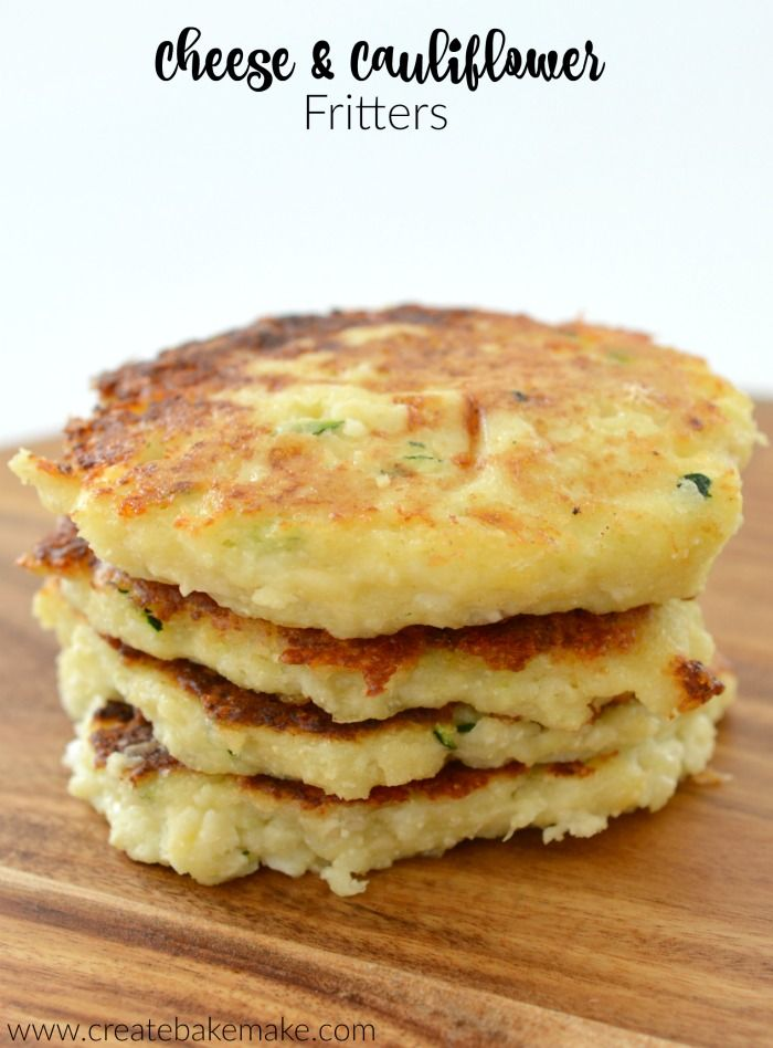 Cheese and Cauliflower Fritters Recipe - both regular and thermomix instructions included