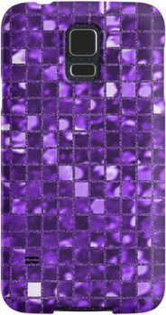 Sparkling Purple Mosaic Pattern | Snap Cases, Tough Cases, & Skins for iPhones 4s/4 5c/5s/5 6/6Plus & Samsung S3/S4/S5 Galaxy Phones. **All designs available for all models.