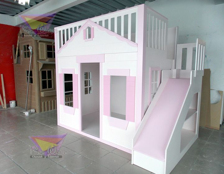 M s de 25 ideas incre bles sobre casitas para ni as en for Recamaras infantiles guadalajara