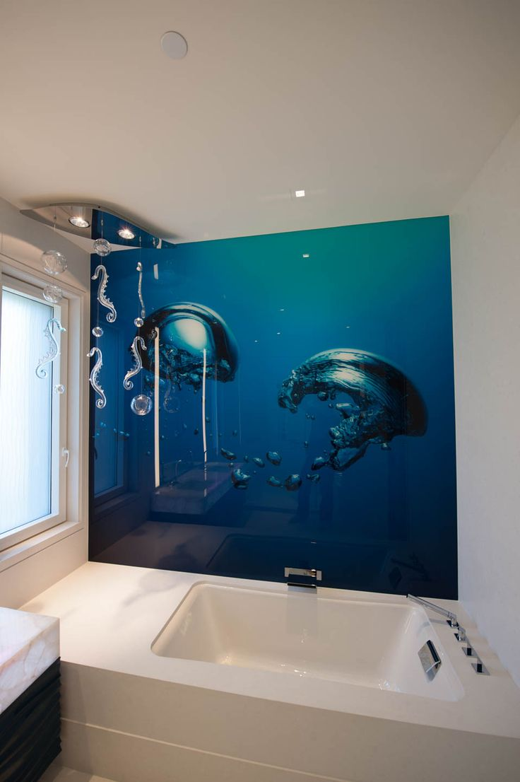 155 best creative wallpaper designs images on pinterest here is a gorgeous blue bathroom bubble print we create images for artists and designers