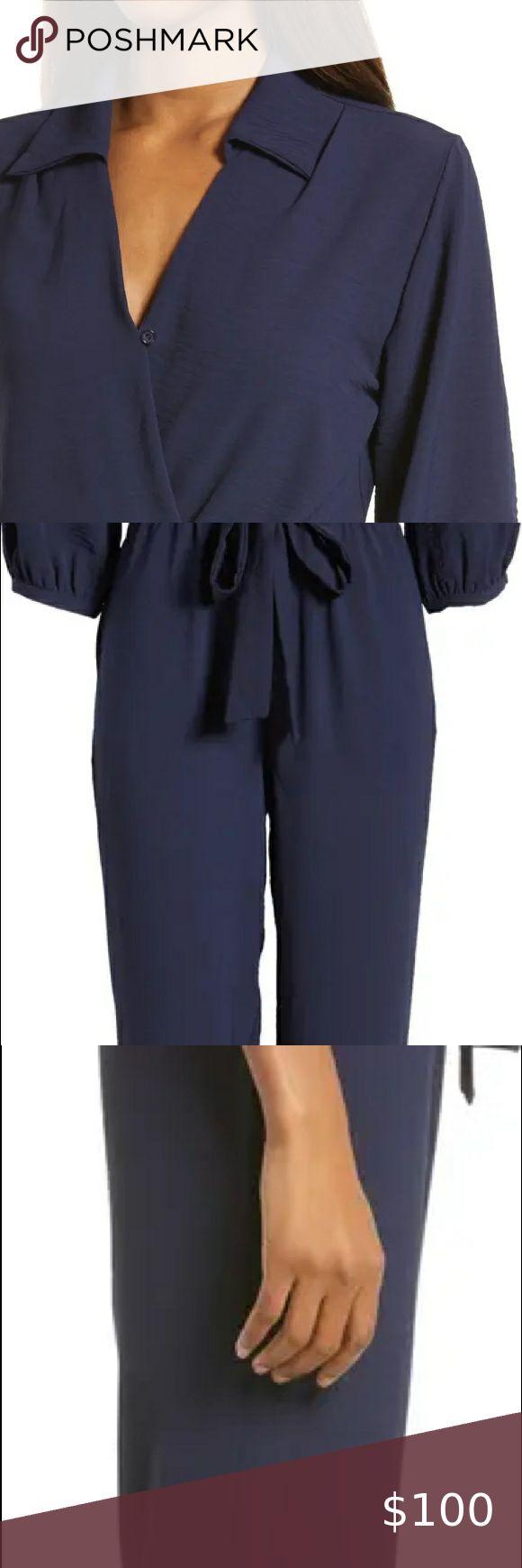 Casual simple contrast color jumpsuit slim slimming halter