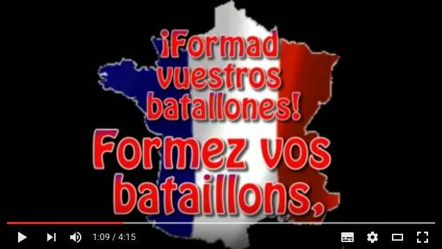 Escucha y lee las letras del himno nacional francés La Marseillaise en ouimerci.mx