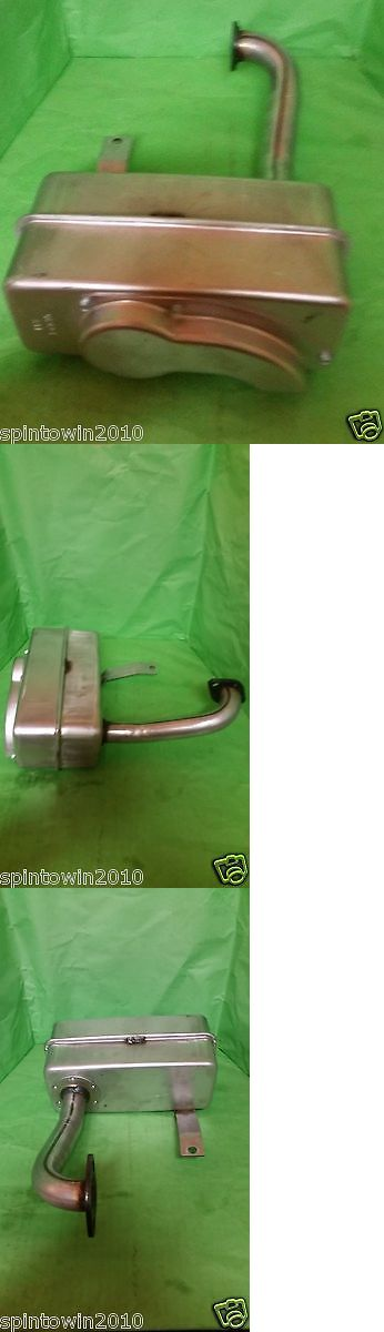 Parts and Accessories 82248: Craftsman Riding Lawn Mower Muffler For Ohv Briggs And Stratton Engine # 137352 -> BUY IT NOW ONLY: $32.88 on eBay!