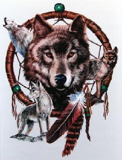New Native American Indian Wolf Dream Catcher T-Shirt Unisex M L XL 2XL 3XL