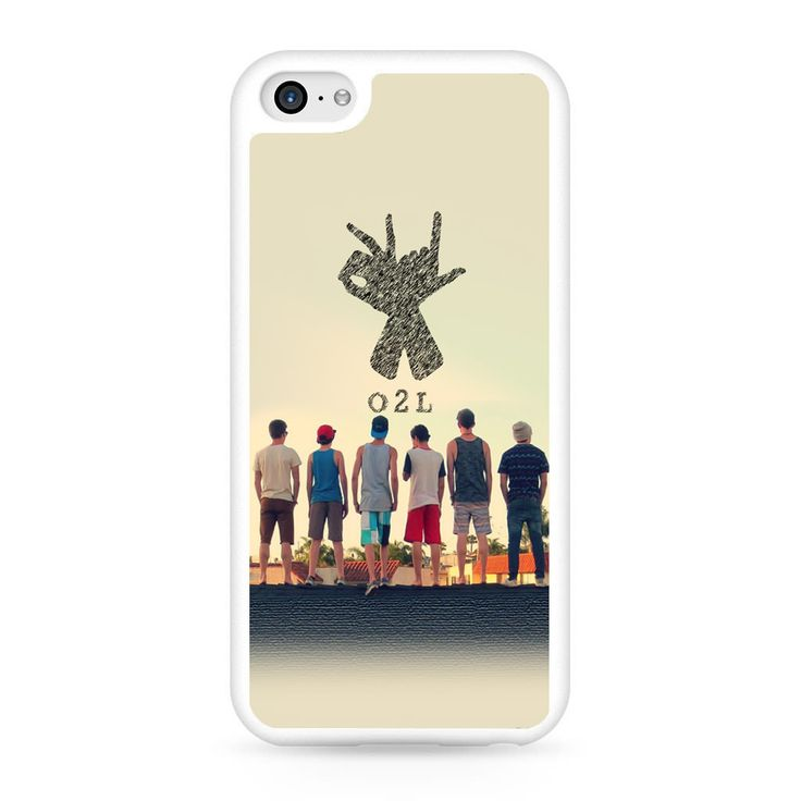 O2l Collage Hand Sign iPhone 5C Case