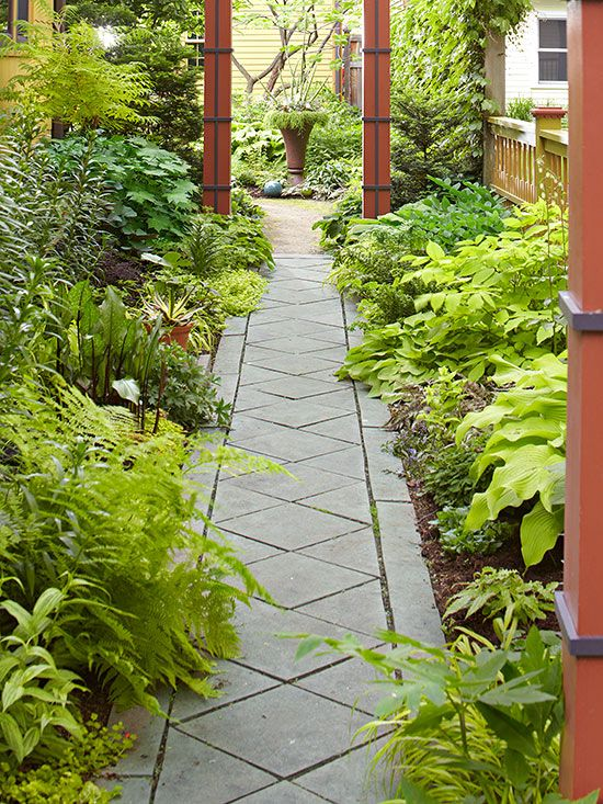 17 best images about garden path ideas cut stone for Landscaping ideas stone path