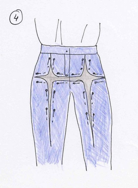 How to adjust trouser fit...in various ways