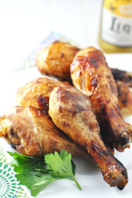 Baked Balsamic Honey BBQ Chicken Legs & Drumsticks  from @Jennifer Leal
