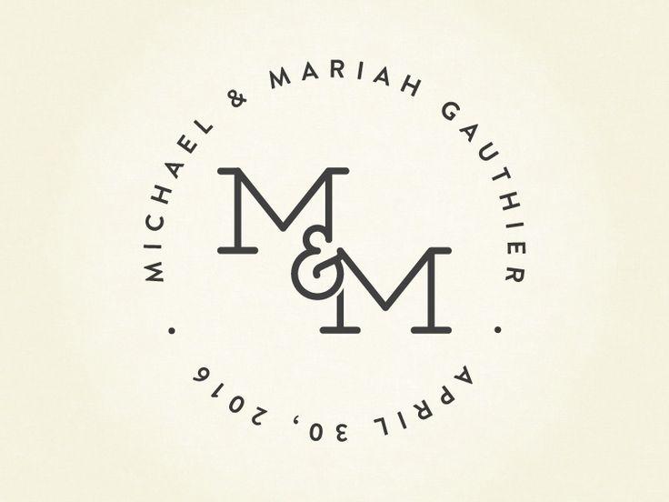M&M Wedding Logo                                                       …