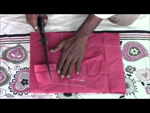 ▶ Perfect Blouse Making Tutorial Step by Step - Part 1 (Cutting) - YouTube