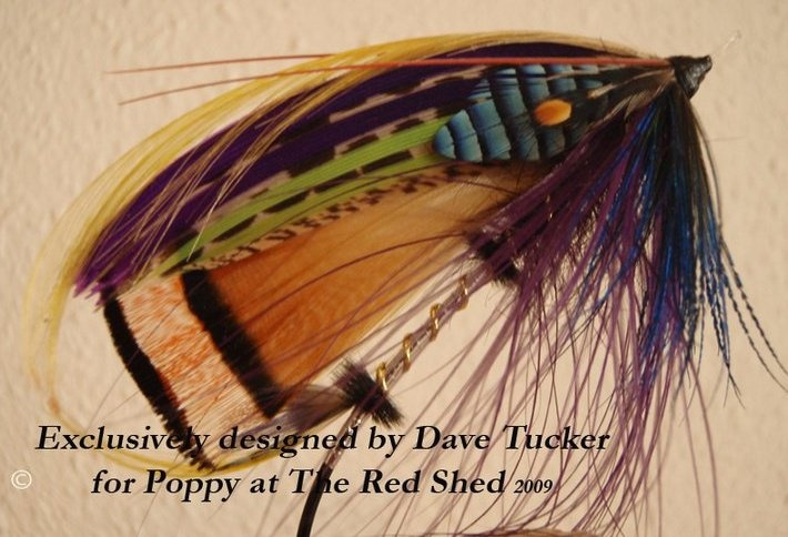 The Poppy Spey for the guru of spey Poppy Cummins at the Red Shed Fly Shop