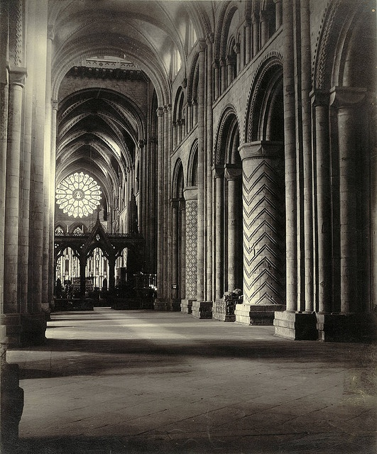 Durham cathedral interior collection a d white - Cornell university interior design ...