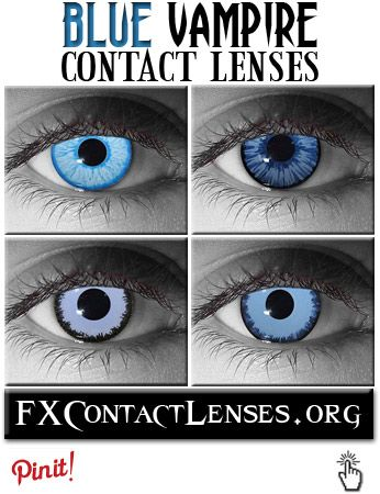 http://fxcontactlenses.org/underworld-contact-lenses.html  Movie-inspired blue Vampire contact lenses to spice up any vampire costume or Gothic look.  These vampire contacts were custom designed to resemble popular Vampire characters from the movies Underworld & Interview with the Vampire.  Click link above to learn more.