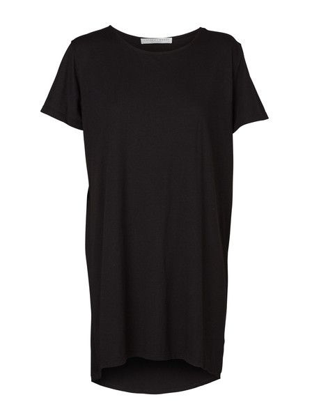VIKTORIA & WOODS - Saturn Tee Dress - Black - Basics - Oversized Tee $129.90