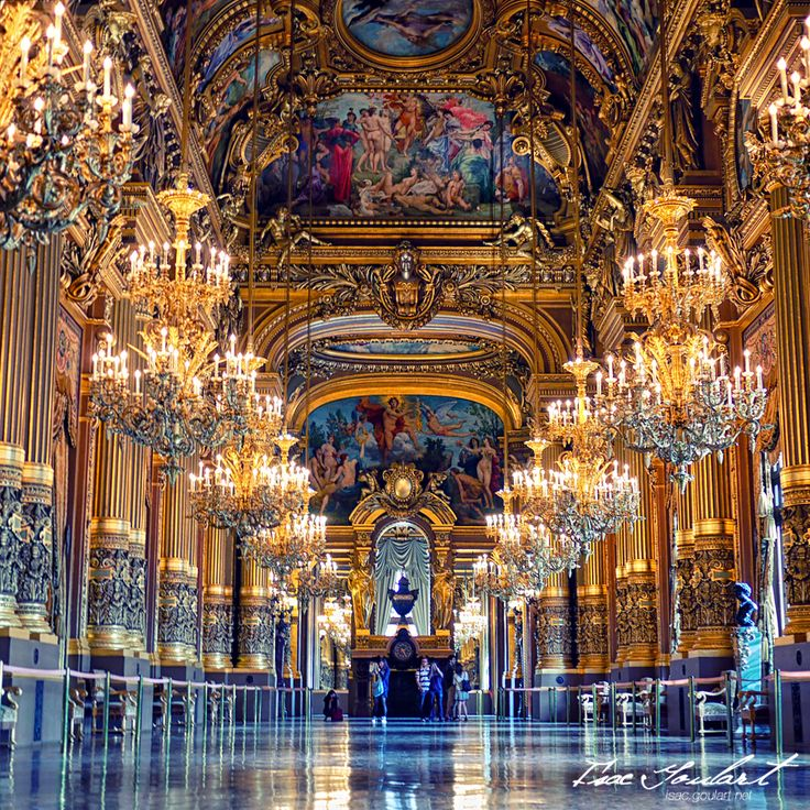 My favorite place in Paris. Opéra de Paris - Paris, France