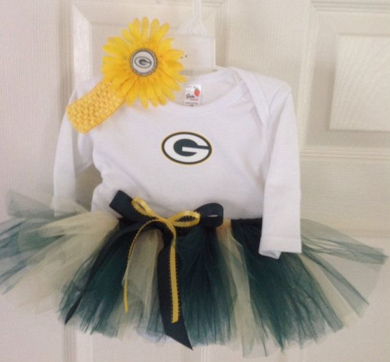 Greenbay Packers Tutu Outfit Oregon Ducks Packers by strawberryluv