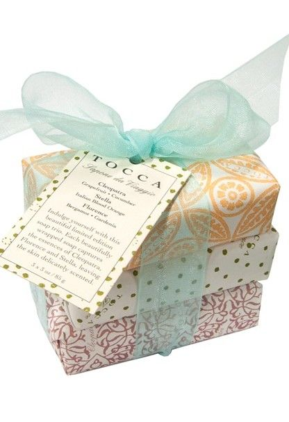 Say thank you with this simple soap trio