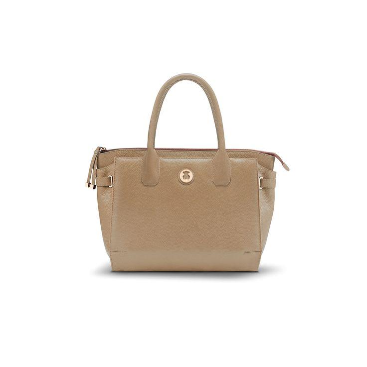 """Bovine leather TOUS Rose collection handbag. 29cm. x 35cm. x 12cm. - 11 7/16"""" x 13 3/4"""" x 4 3/4"""". TOUS Washington DC"""