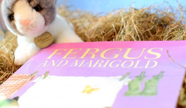 Fergus and Marigold from Baby Book Club June 17 box - On the Farm | Three books a month. Lovingly hand chosen. Delivered to your door.