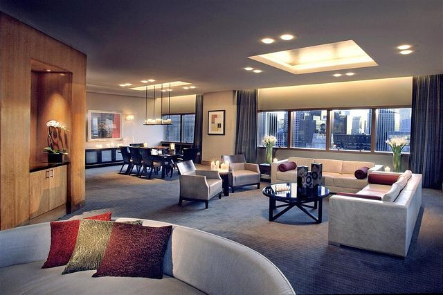 All sizes | The Westin New York at Times Square—Presidential Suite - Living Room | Flickr - Photo Sharing!