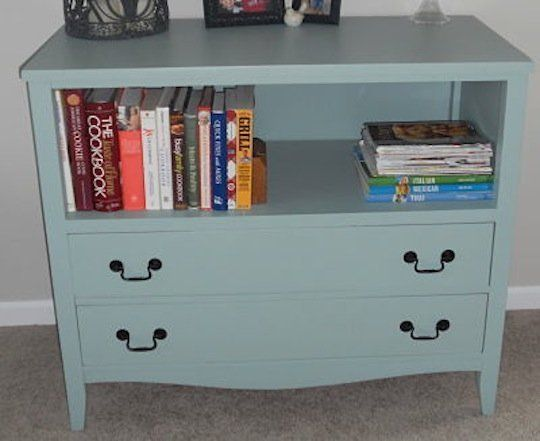 Broken down dressers are at every thrift store and garage sale. Use them for more than just clothes! Reuse + Recycle: 10 Upcycled Dressers