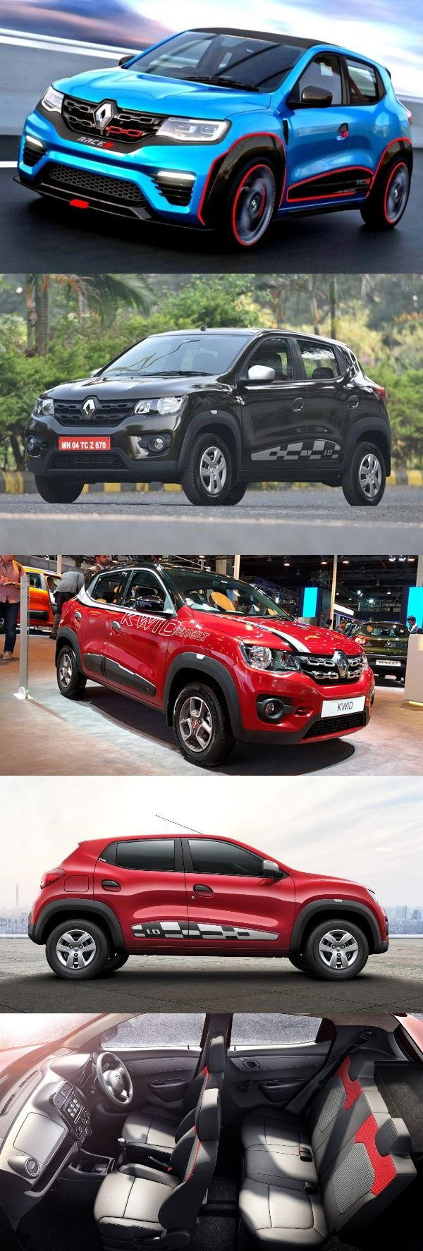 Renault Kwid EasyR AMT Version Launched in India; Priced