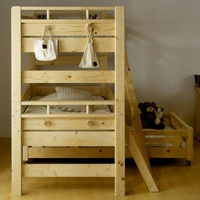 三段ベッドは頑丈さとサイズで選びましょう! | 家具通販わくわく ...