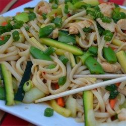 Chow Mein with Chicken and Vegetables Recipe and Video