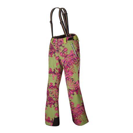 Halti Poutiainen 2013 -housujen erikoisuutena villa-polyesteri sekoitteesta tehdyt lämpimät vuoripanelit housun takaosassa. #Halti