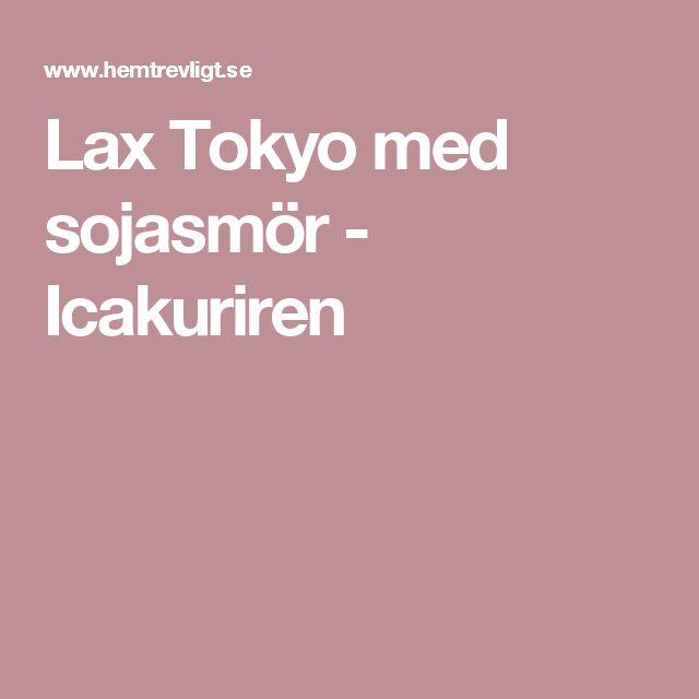 Lax Tokyo med sojasmör - Icakuriren