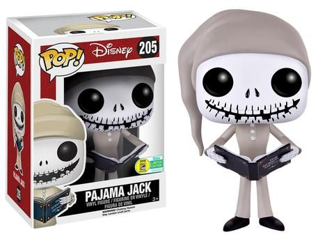 2016 San Diego Comic-Con Exclusives: Wave Five! | Funko Pop! Disney: Nightmare Before Christmas - Pajama Jack Skellington