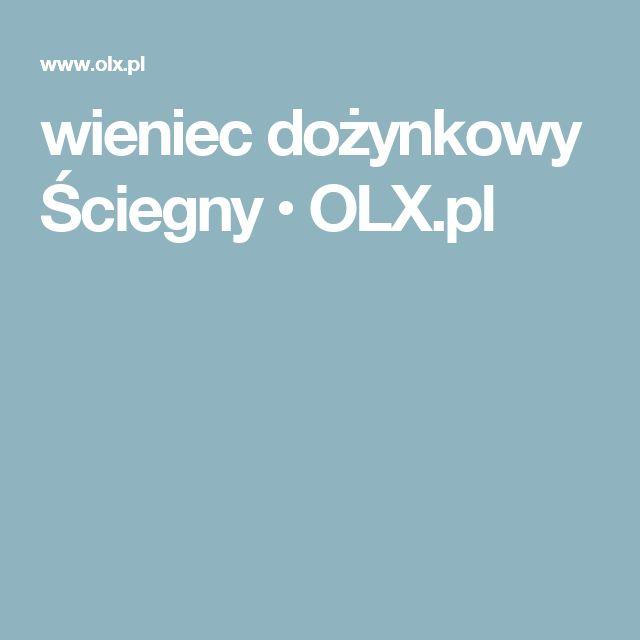 wieniec dożynkowy Ściegny • OLX.pl
